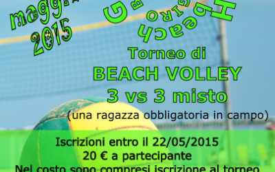 Giro beach – Torneo di beach volley