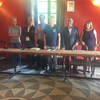 Conferenza stampa Comune di Coazze